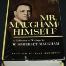 1954 Mr. Maugham Himself hardcover book biography by W. Somerset Maugham