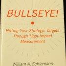 Bullseye! profit measuring tactics business companies strategic performance hardcover book
