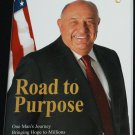 Road to Purpose self-help inspiration hardcover book Kenneth E. Behring achievement goals book