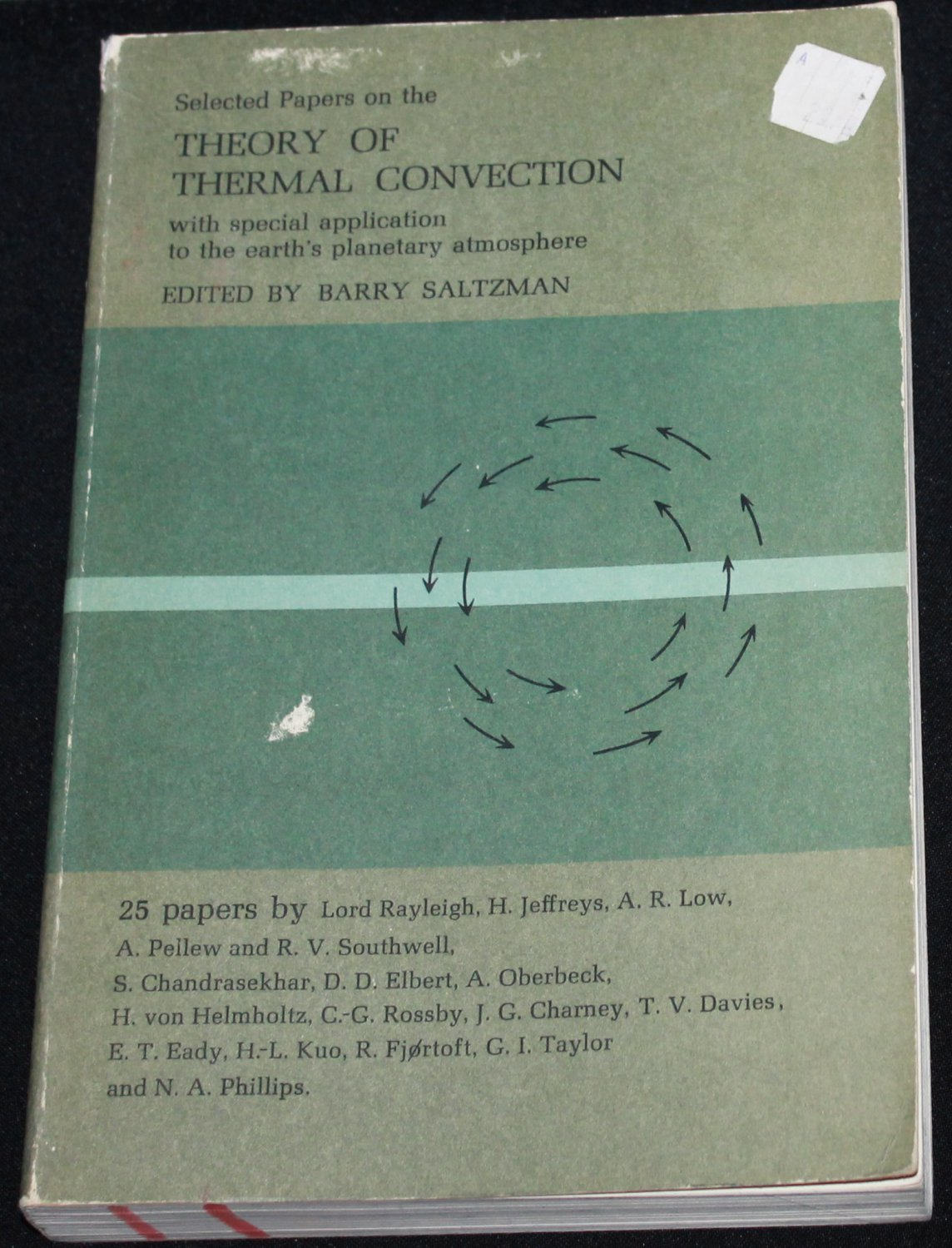 Selected Papers on the Theory of Thermal Convection book science weather atmosphere atmospheric book