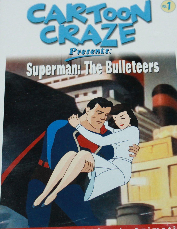 Fast Furious 8 Full Movie >> Superman Bulleteers DVD - Carton Craze Vol. 1 cartoon animation animated super man dvd