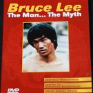 BRUCE LEE THE MAN THE MYTH  dvd documentary dvd martial arts kung fu karate dvd