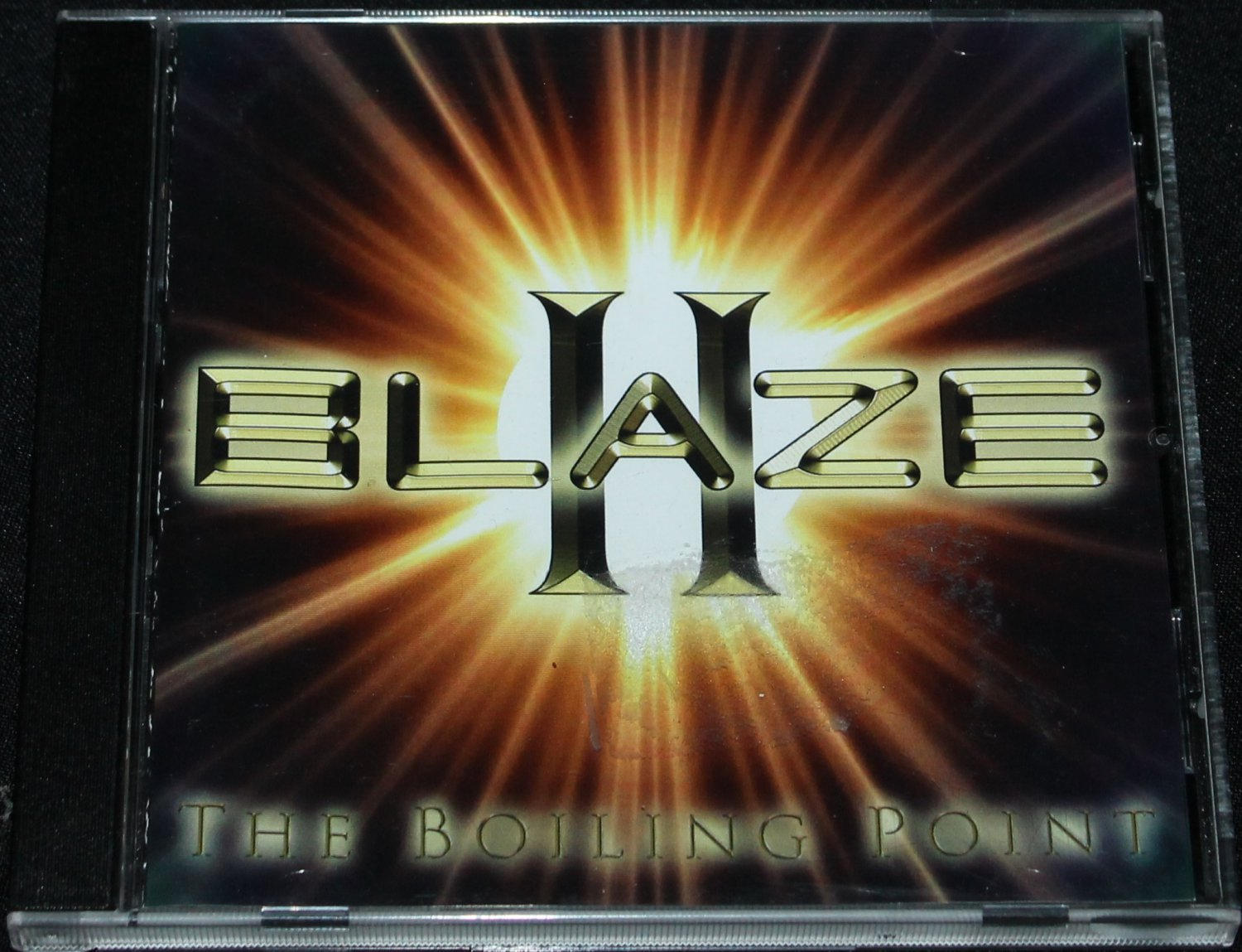 Blaze II CD - music album songs on cd