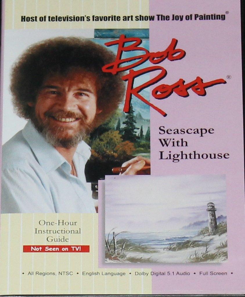 Bob Ross painting DVD Seascape Lighthouse painting dvd art paint instruction instructional art dvd