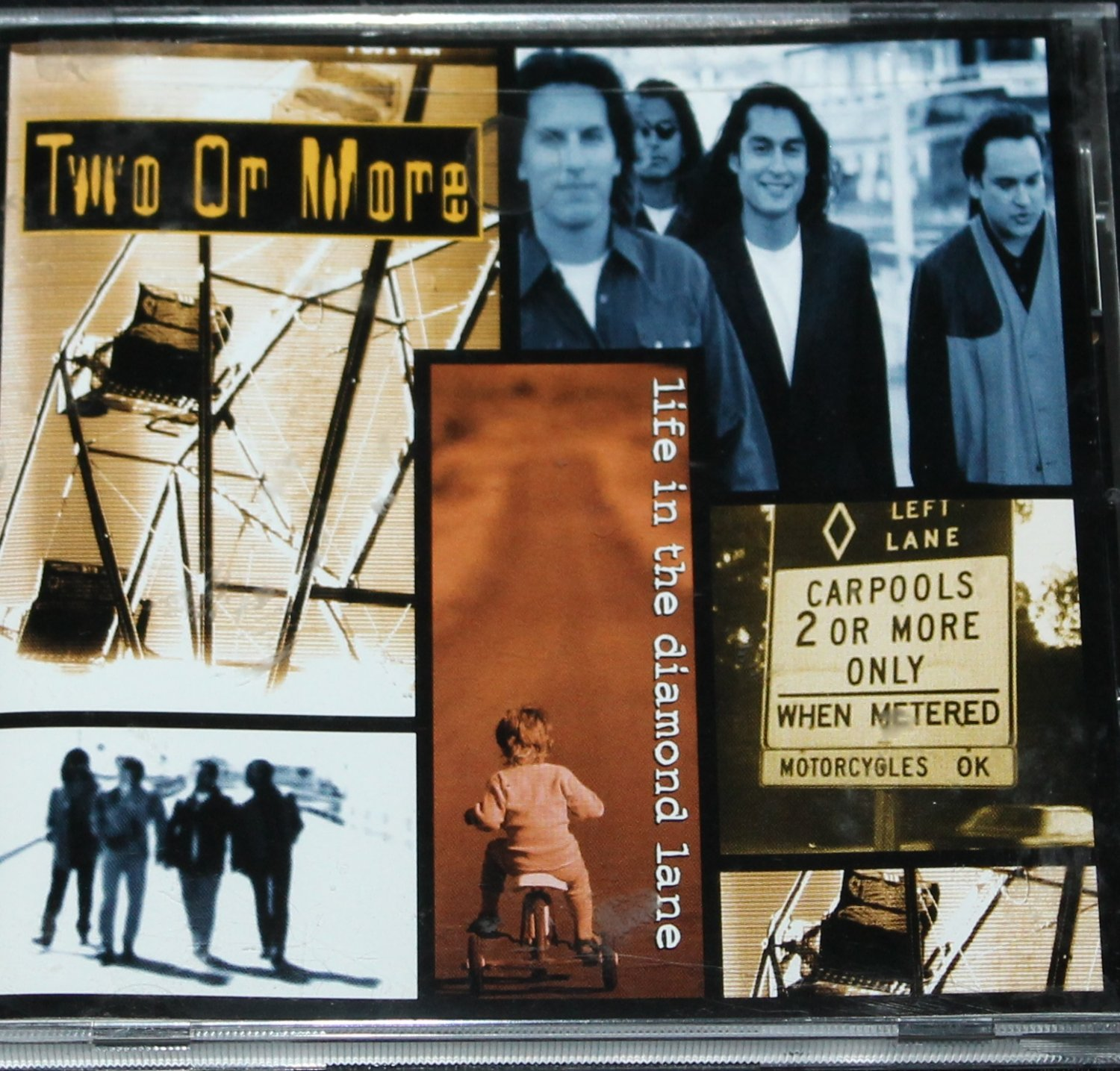 Two Or More CD Life in the Diamond Lane music album cd
