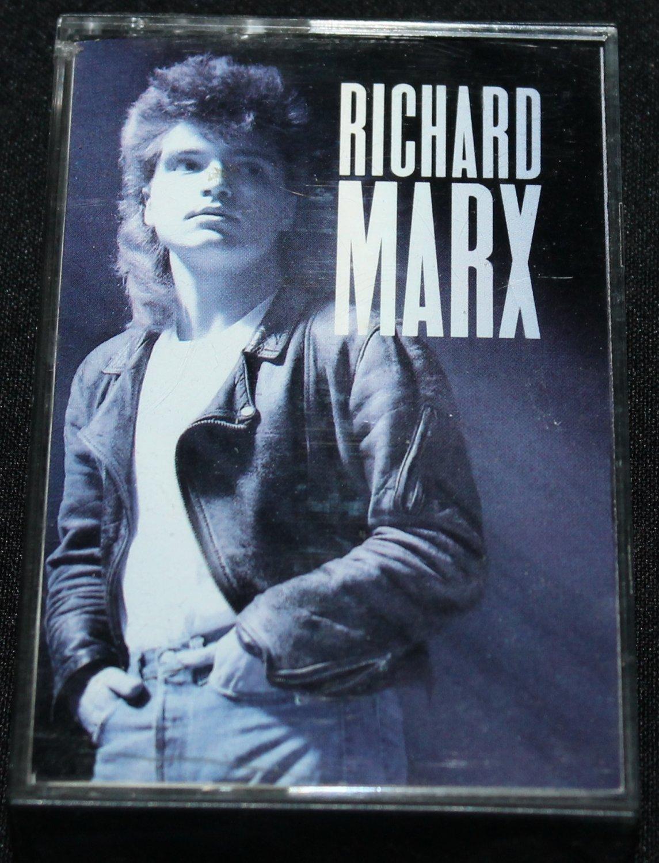 Richard Marx pop rock album music songs on cassette tape
