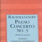 1984 Rachmaninoff Piano Concerto No. 3 music  - classical music cassette tape