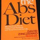 The Abs Diet hardcover book by David Zinczenko eat flatten belly abs health beauty slim shape book