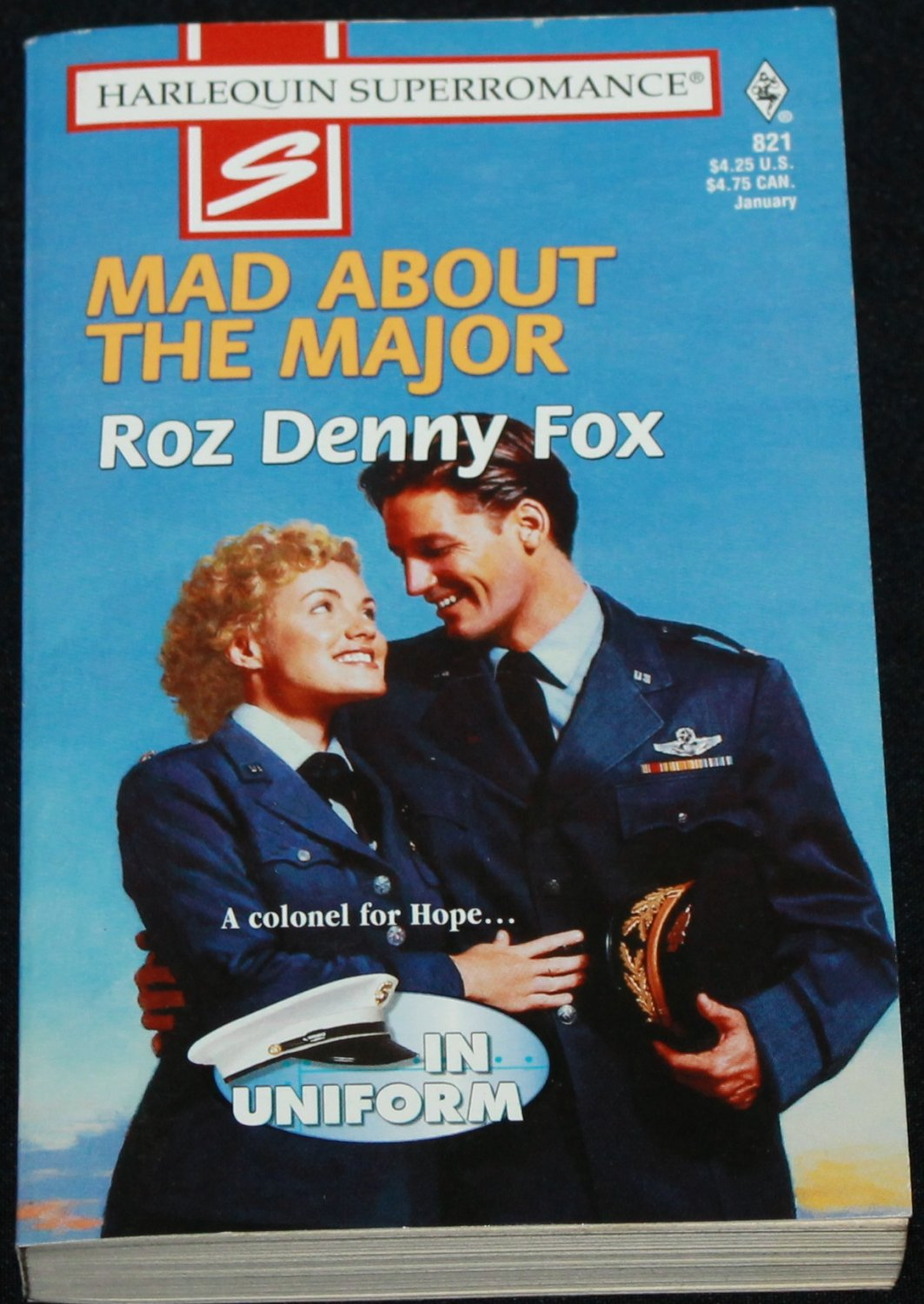 Mad About the Major - Harlequin romance book - passion romantic love story paperback book