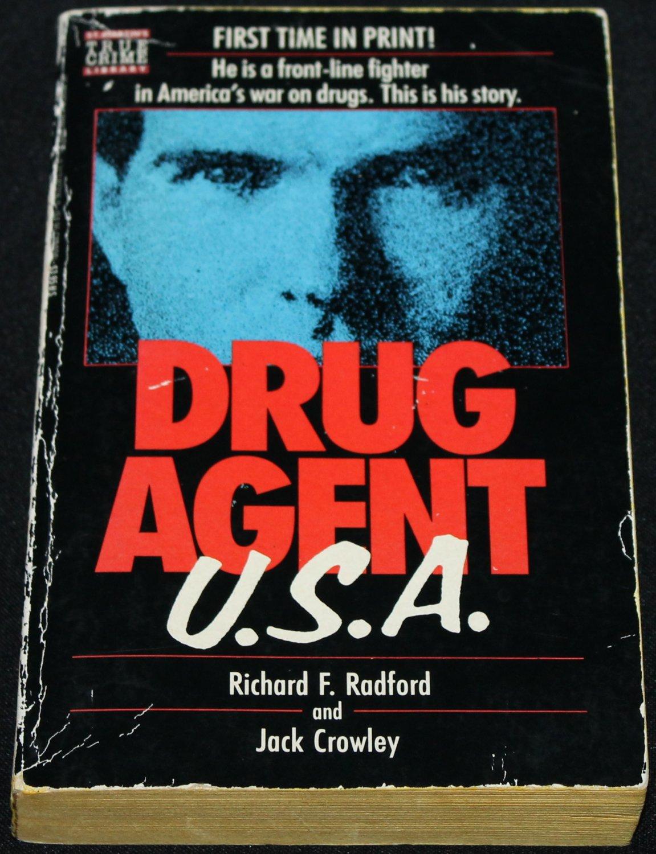 1989 Drug Agent USA true crime paperback book