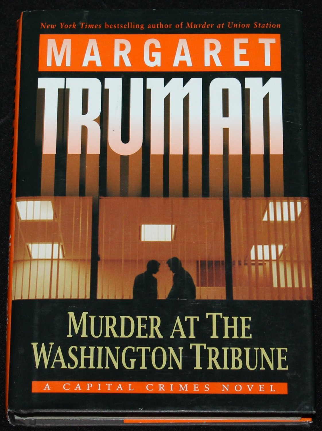 Murder At The  Washington Tribune mystery suspense hardcover book by Margaret Truman