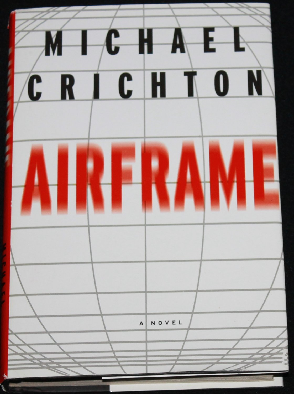 Airframe suspense novel book by Michael Crichton hardover - air frame