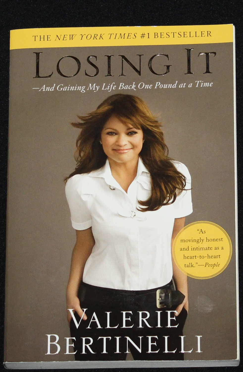 Losing It by Valerie Bertinelli weight-loss book celebrity health fit slim trim lose weight book