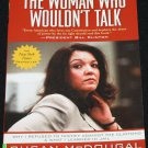 signed Susan McDougal The Woman Who Wouldn't Talk political politics government investigation book