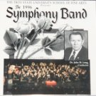 1996 New Sealed Troy State University Symphony Band songs performance music tunes cd