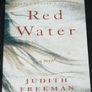 Red Water - novel book by Judith Freeman fiction book read reading paperback book