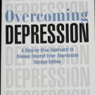 Overcoming Depression - Cognative Behaviour Therapy anxiety psychology book by Paul Gilbert