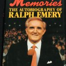 Memories - The Autobiography of Ralph Emery - country music tv radio host star - hardcover book