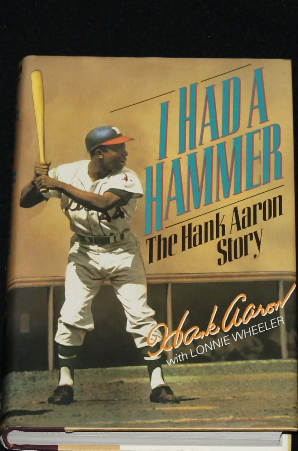 I Had a Hammer - The Hank Aaron Story - baseball sports biography book by Lonnie Wheeler