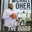I Beat The Odds football book Michael Oher NFL offensive tackle sports biography autobiography book
