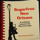 Sugarfree New Orleans - cookbook cook cooking health healthy food Glycemic sugar free nutrition book