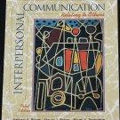 Interpersonal Communication - communicating human bahavior people -  third edition book