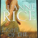 Light of the Moon romance book - passion love story paperback book by Luanne Rice