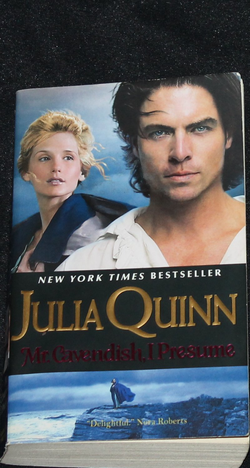 Mr. Cavendish, I Presume - historical romance novel Julia Quinn paperback book fiction quin