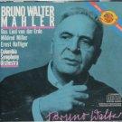 Bruno Walter classical music cd Columbia Symphony Orchestra Das Lied von der Erde cd