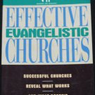 Effective Evangelistic Churches paperback book Thom Rainer Christian God Church issues book book