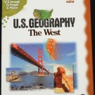 U.S. Geography The West cd-rom geographical educational science cd-rom
