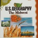 U.S. Geography The Midwest cd-rom geographic educational science cd-rom