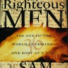 The Righteous Men thriller suspense novel biblical bible prophecies hardcover book Sam Bourne