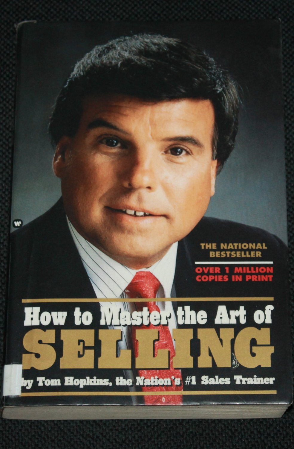 How to Master the Art of Selling - book by Tom Hopkins business success sales book