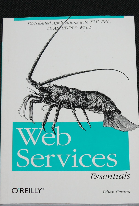 Web Services Essentials book by Ethan Cerami internet computer book