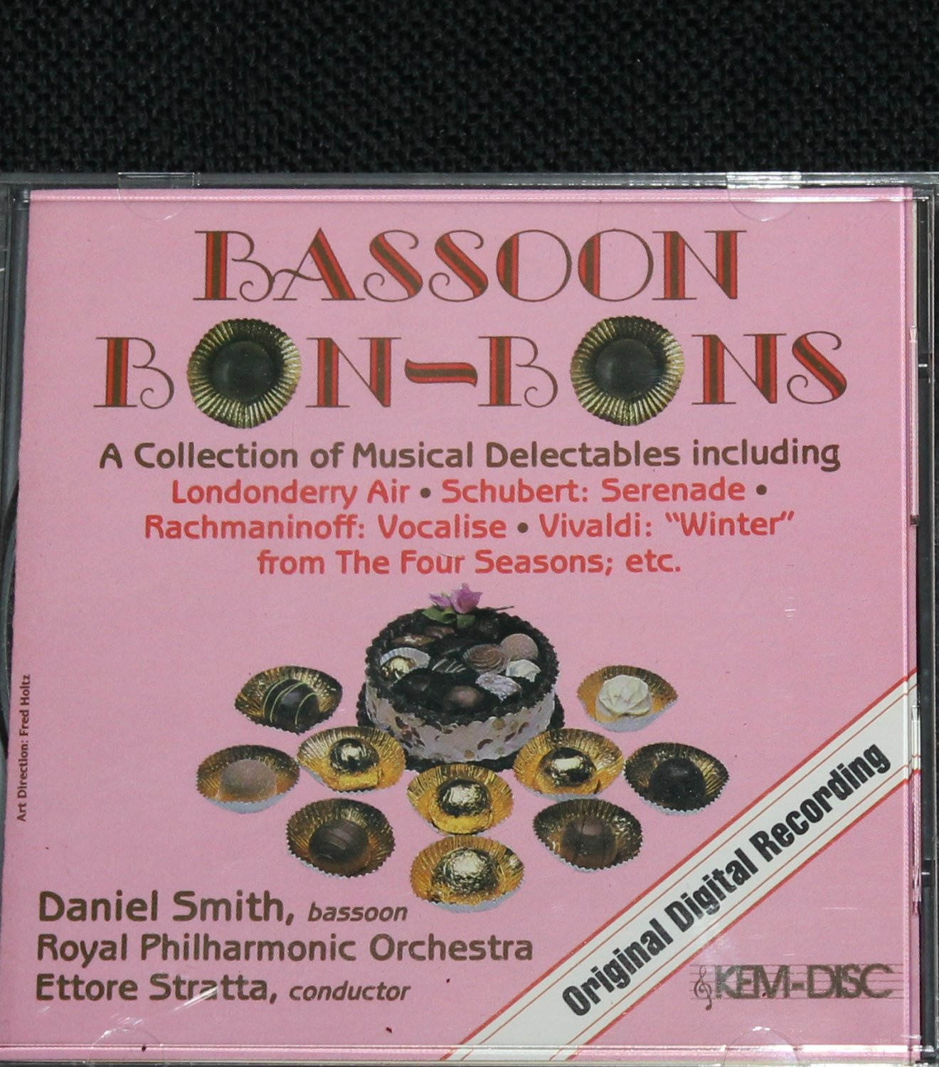 Bassoon Bon-Bons music cd