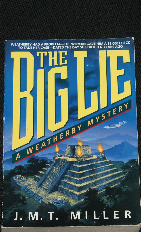 The Big Lie mystery novel hardcover book
