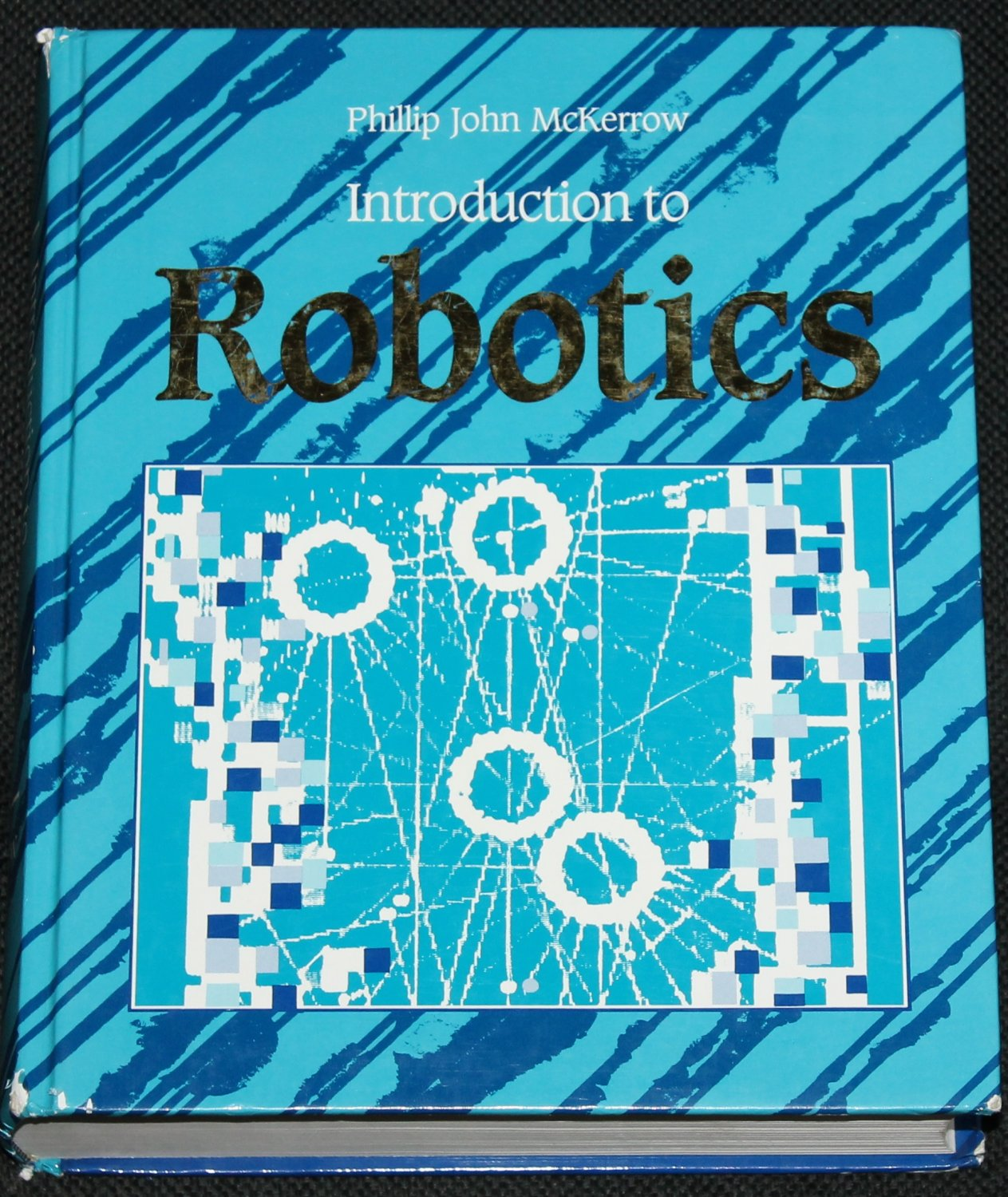 Introduction To Robotics - scientific robot technology book by Phillip John McKerrow