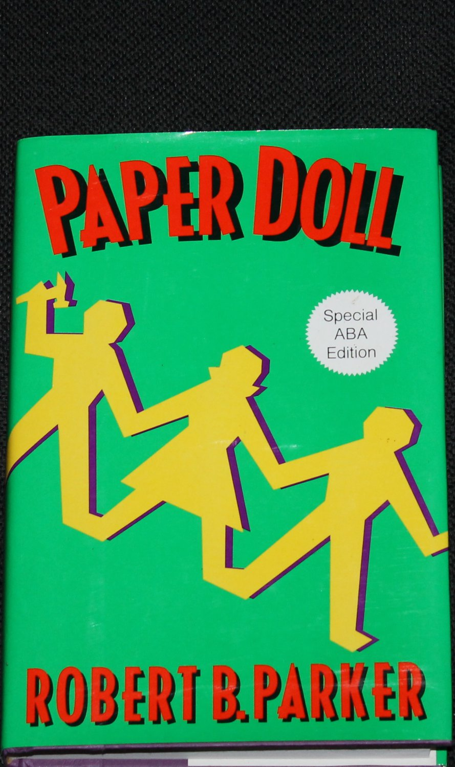 Paper Doll crime fiction suspense thriller novel book by Robert B. Parker