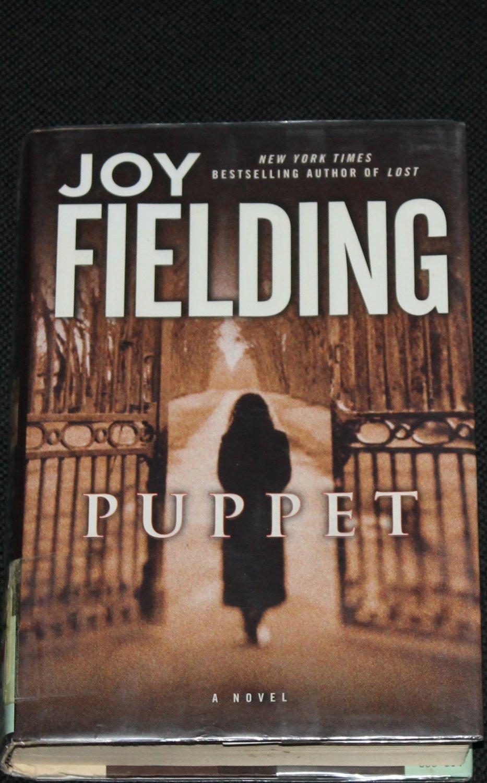 Puppet novel by Joy Fielding - women's fiction - hardcover mystery novel book