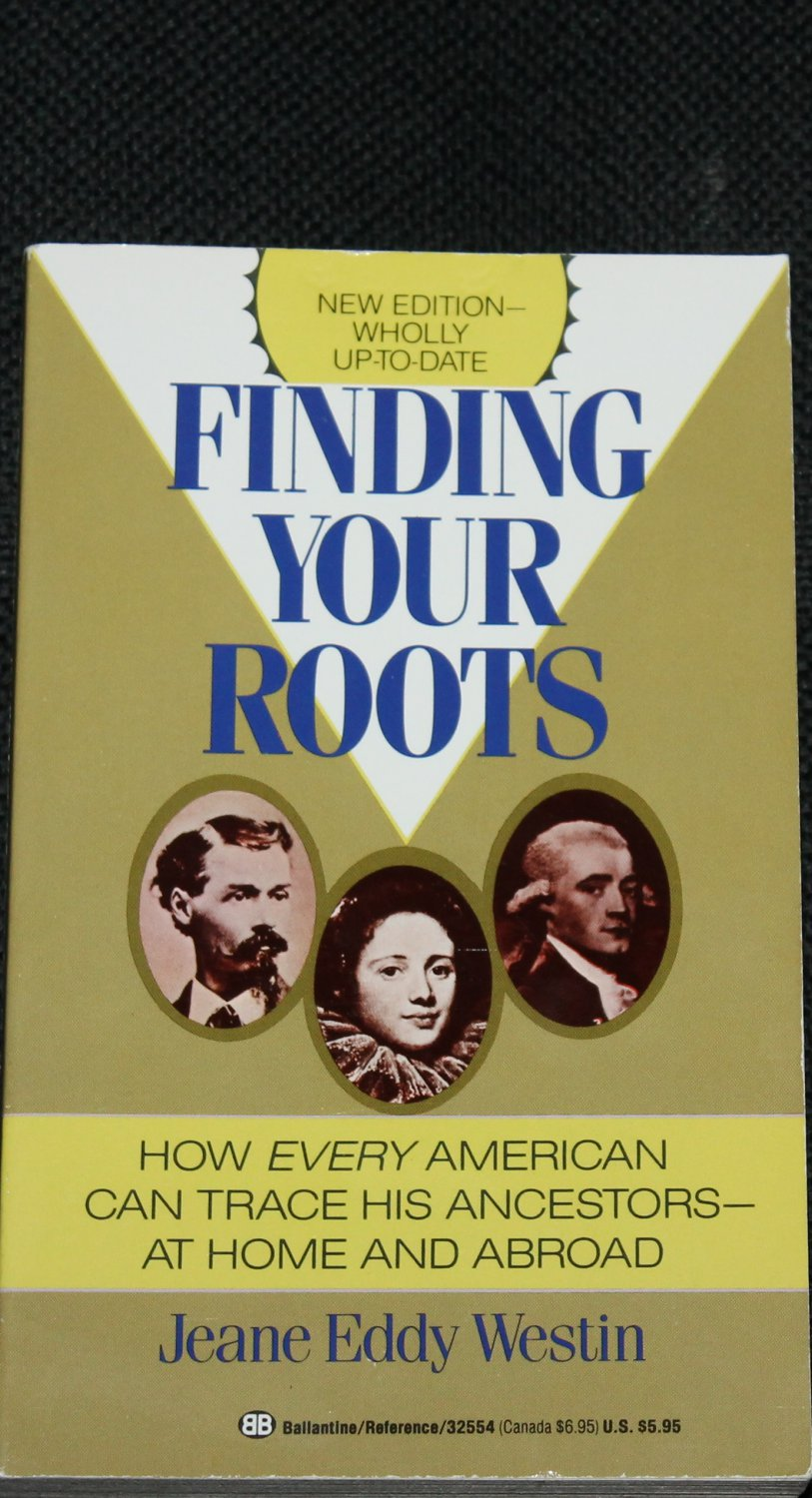 Finding Your Roots paperback book - non-fiction softcover