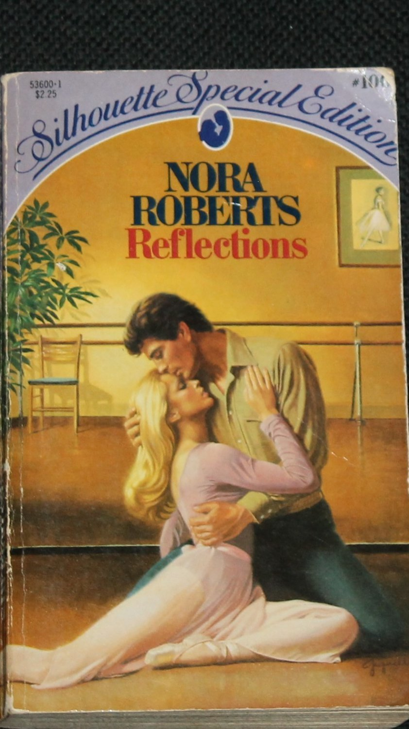 Reflections - romance novel book by Nora Roberts romantic story paperback book