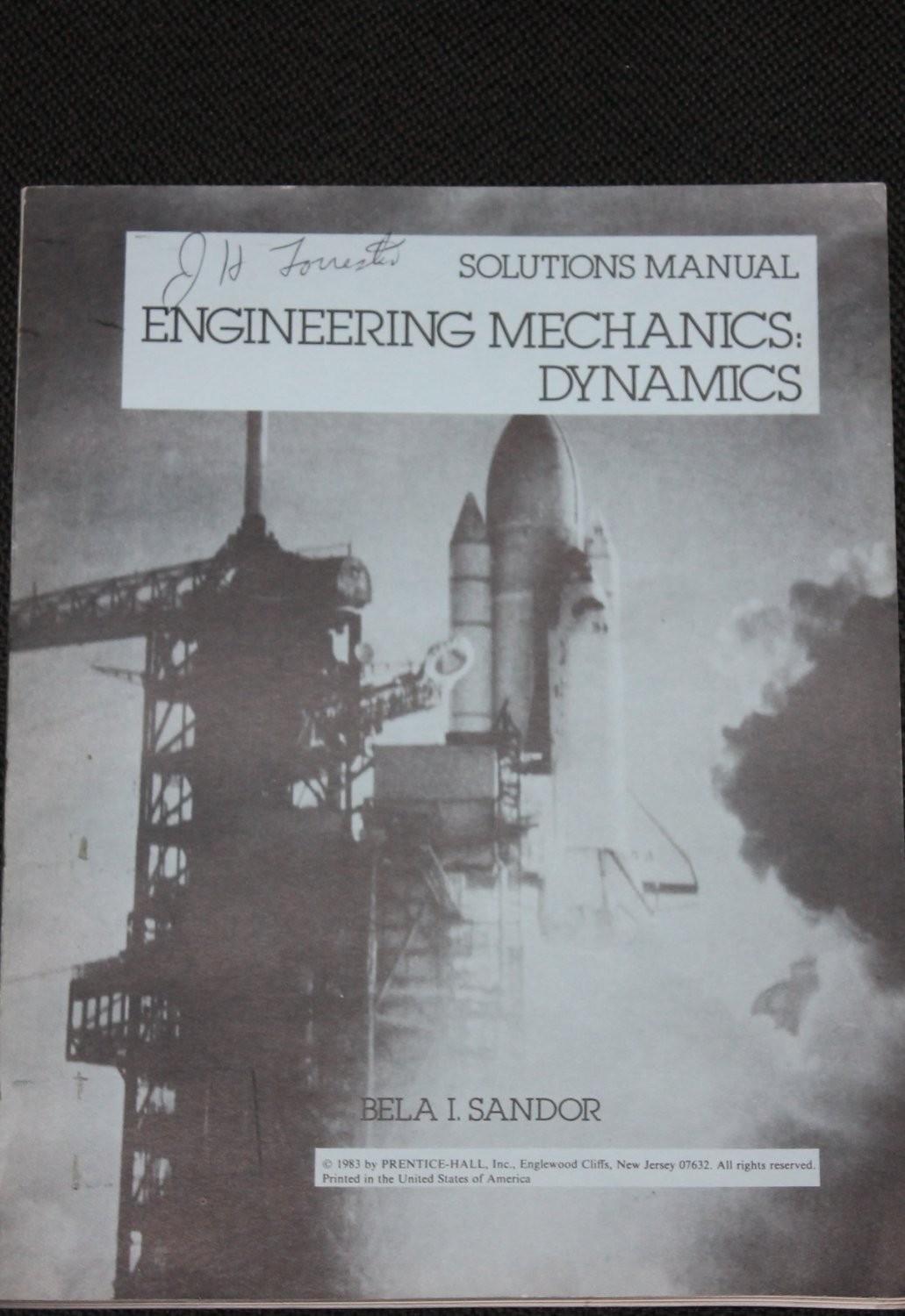 Engineering Mechanics Dynamics science scientific math mathematical technology solutions manual book