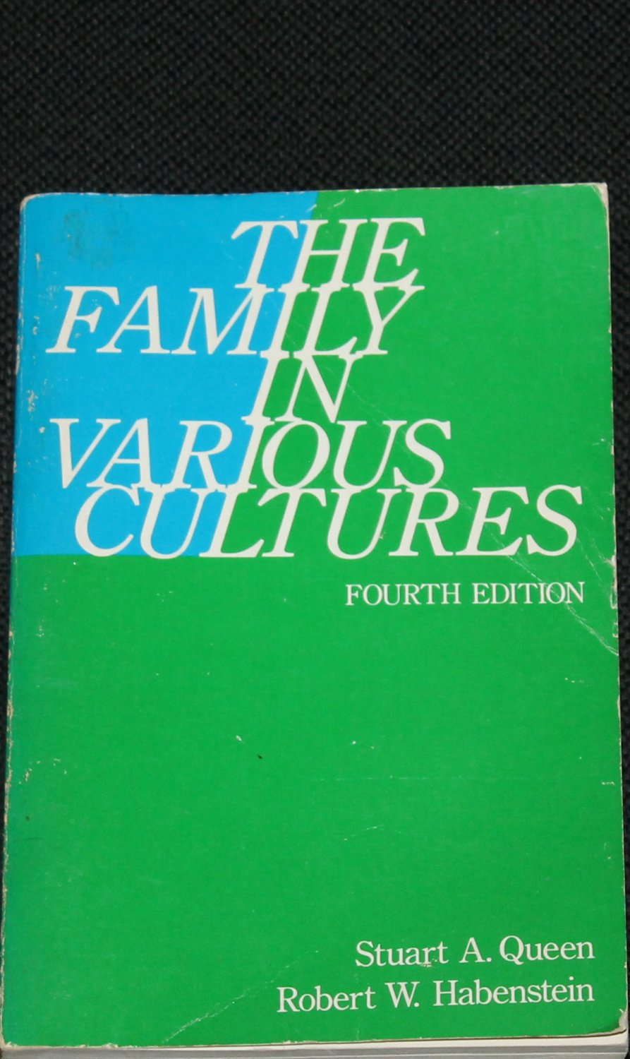 The Family in Various Cultures paperback book by Stuart A. Queen Robert W. Haberstein