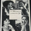 On Women Turning 50 book by Cathleen Roundtree self help inspiration improvement book