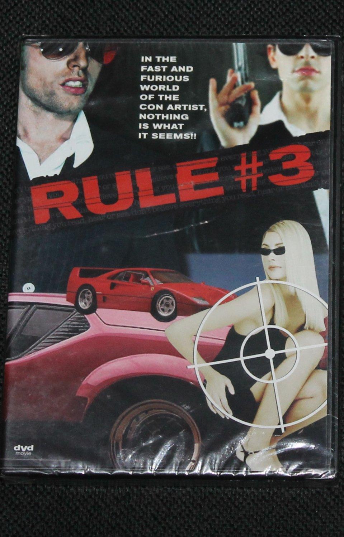 Rule #3 movie dvd NEW action adventure drama movie film dvd