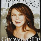 Marlo Thomas Growing Up Laughing - hardcover book biography of tv star actress - celebrity book