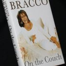 Morraine Bracco On the Couch hardcover - entertainment celebrity star personality book