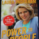 Power To The People book by Laura Ingraham - politics political hardcover book