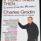 If I Only Knew book by Charles Grodin - tv movie star actor celebrity book - non-fiction